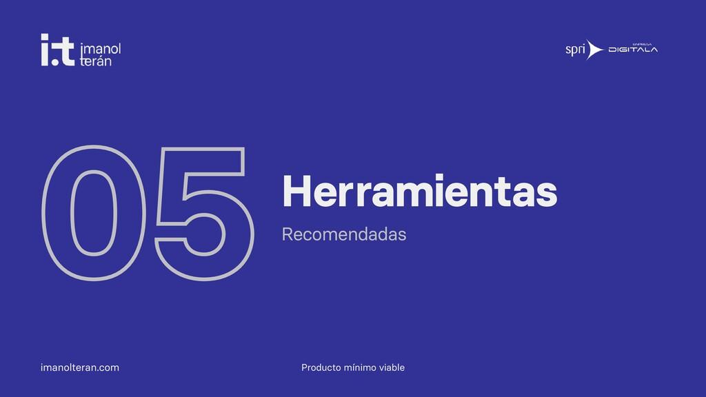 imanolteran.com 05Herramientas Recomendadas Pro...