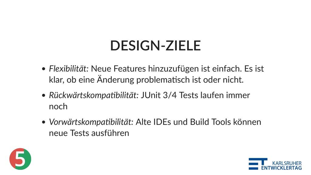 5 DESIGN‑ZIELE Flexibilität: Neue Features hinz...