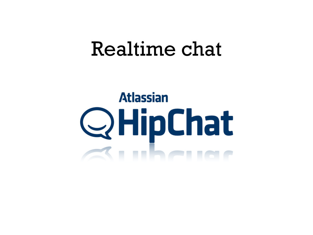 Realtime chat