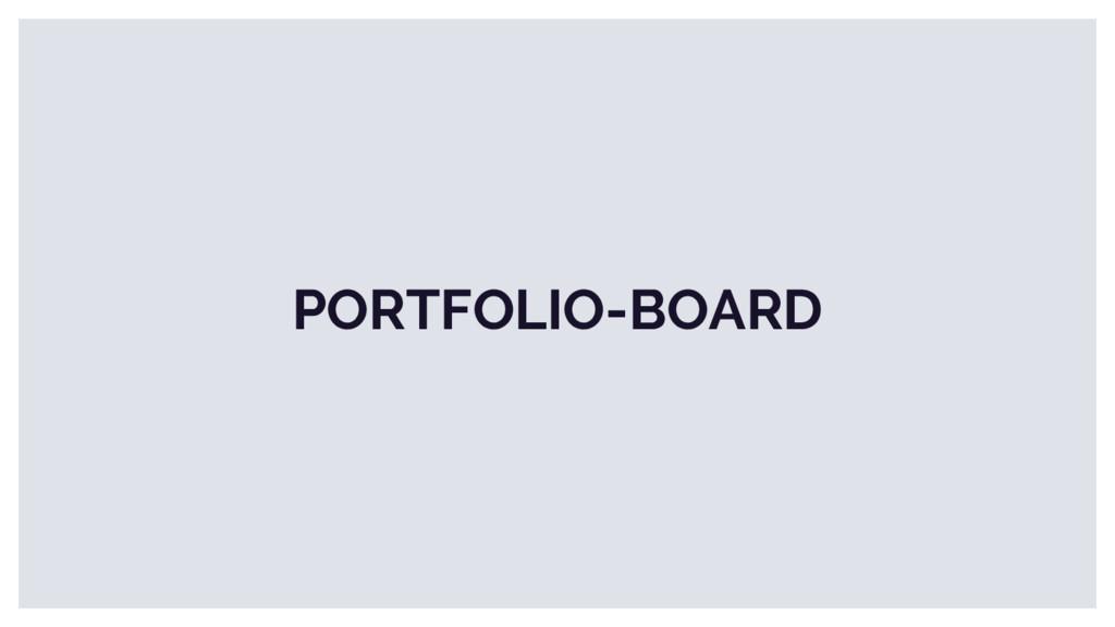 PORTFOLIO-BOARD