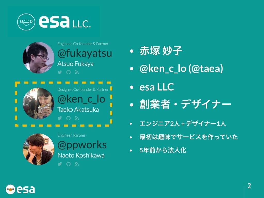 !2 • ௩ ົࢠ • @ken_c_lo (@taea) • esa LLC • ۀऀɾ...