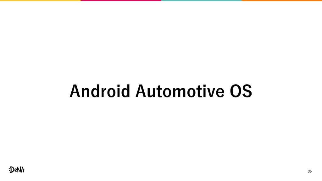 36 Android Automotive OS