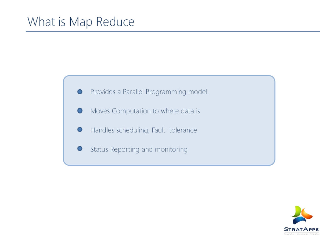 What is Map Reduce Provides a Parallel Programm...