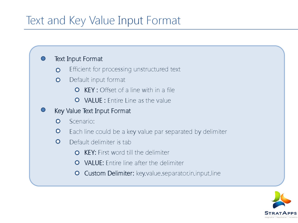 Text Input Format Efficient for processing unst...