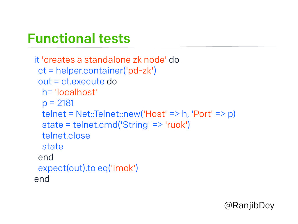 Functional tests @RanjibDey it 'creates a stand...
