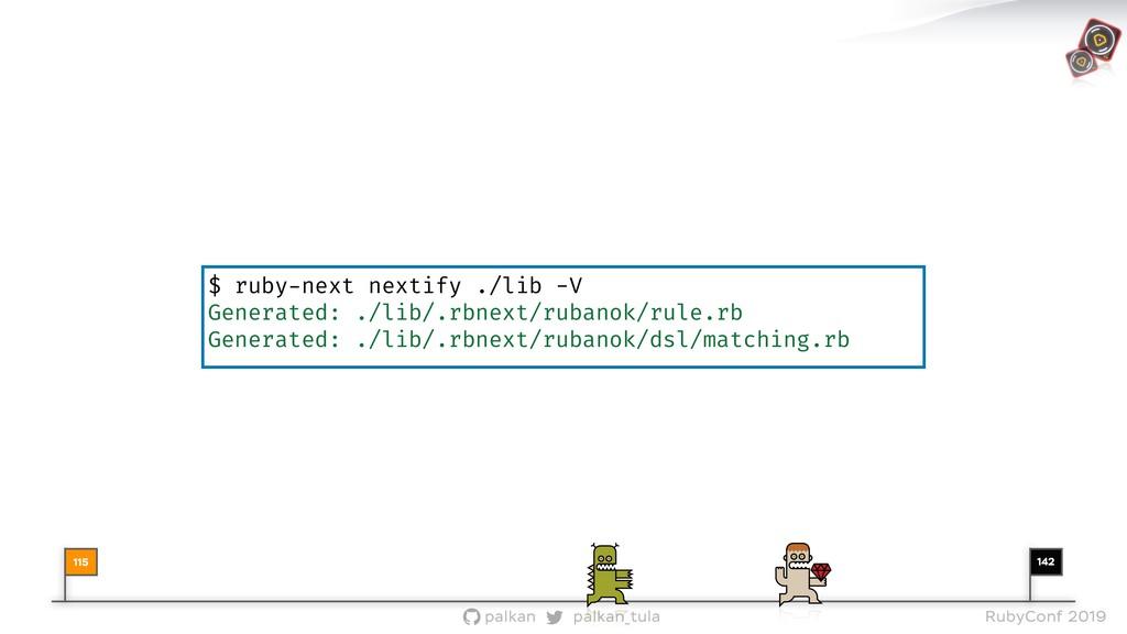 142 palkan_tula palkan RubyConf 2019 $ ruby-nex...