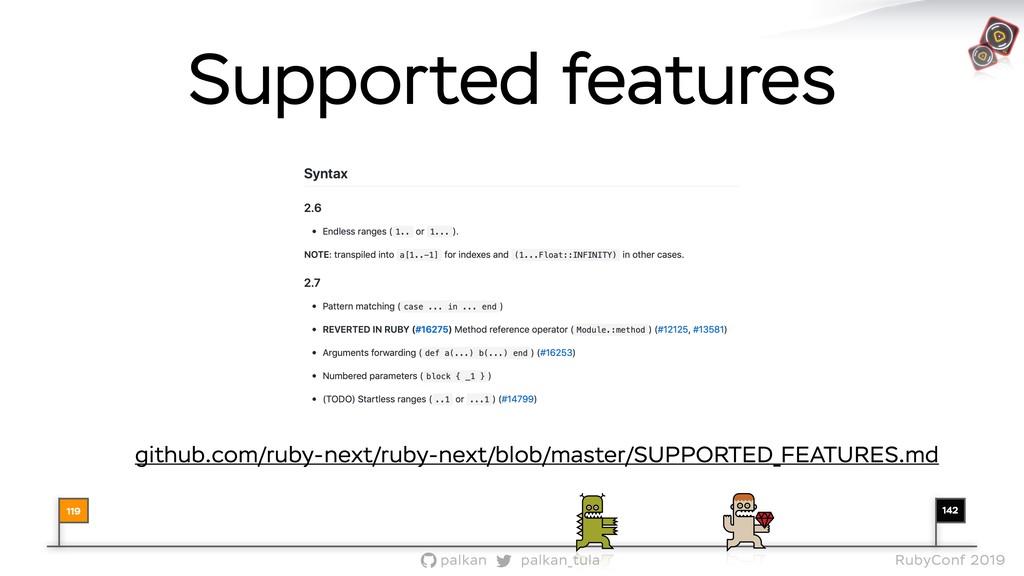 142 palkan_tula palkan RubyConf 2019 Supported ...