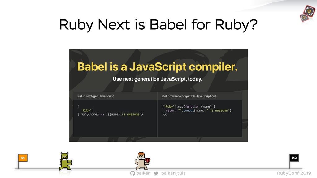 142 palkan_tula palkan RubyConf 2019 Ruby Next ...