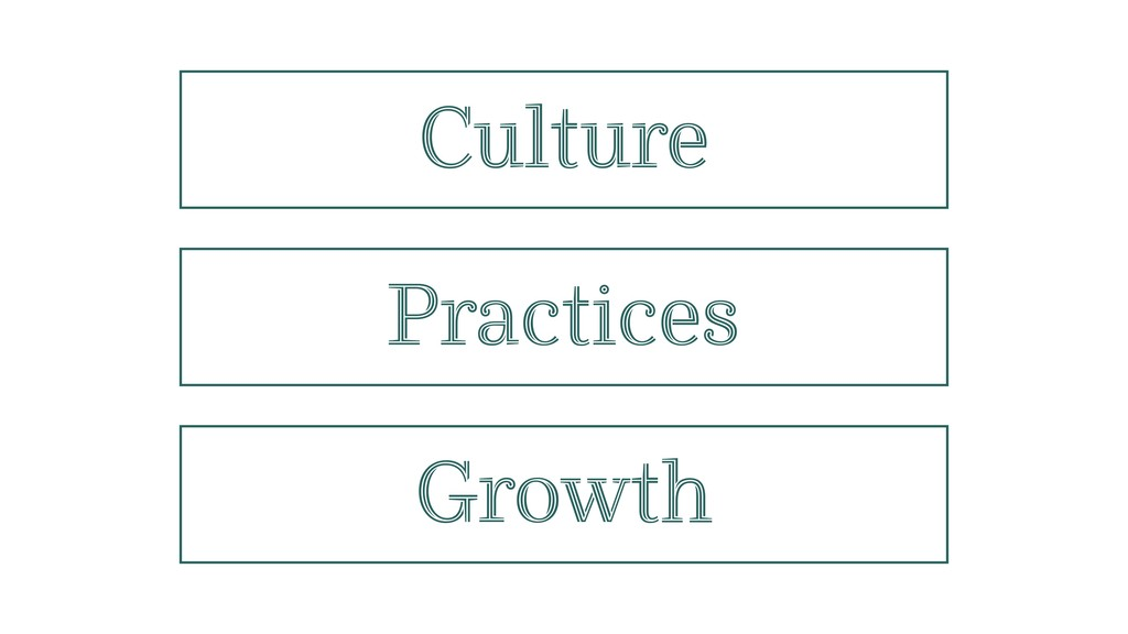 Culture Practices Growth