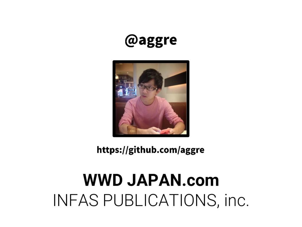 WWD JAPAN.com INFAS PUBLICATIONS, inc.