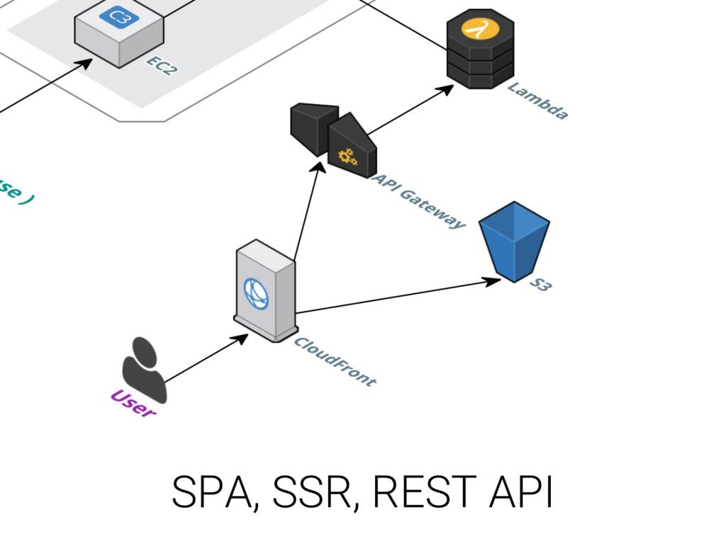 SPA, SSR, REST API