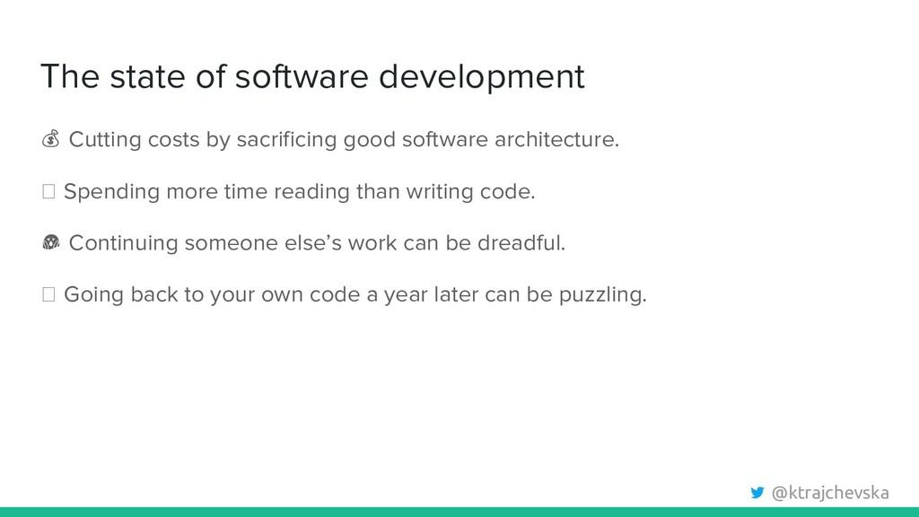 @ktrajchevska The state of software development...