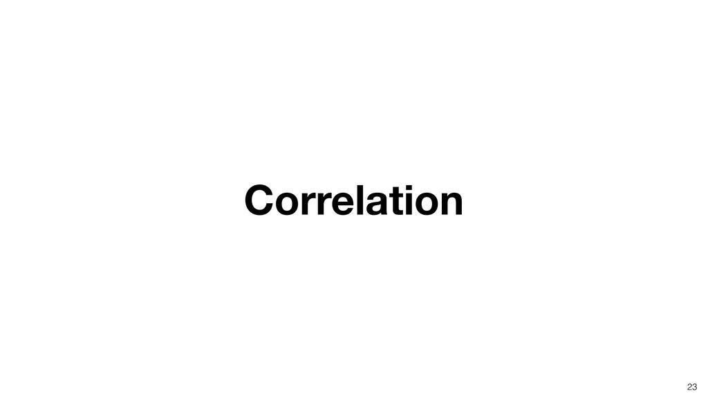 Correlation 23