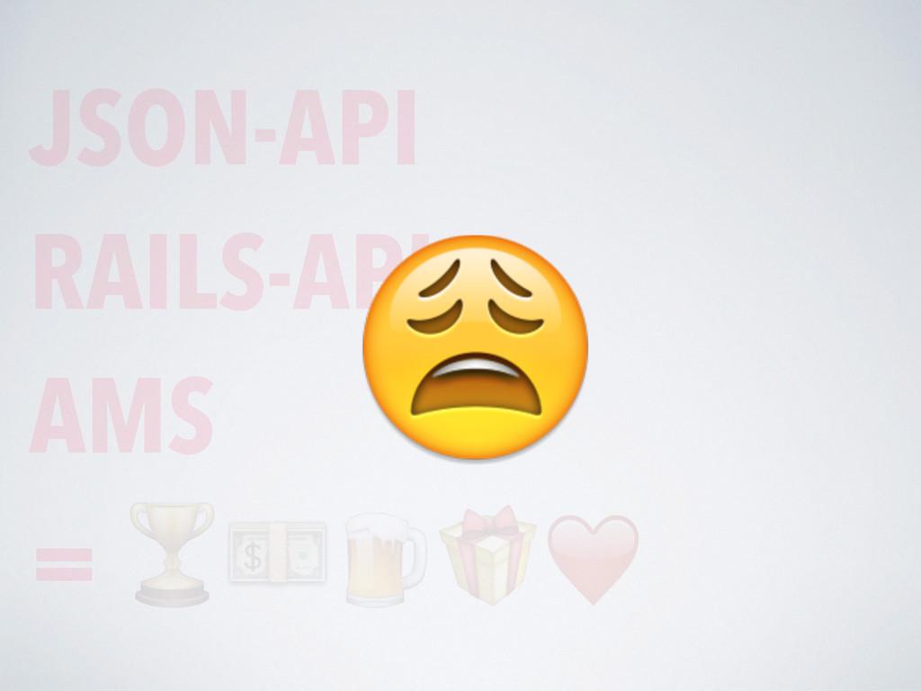 JSON-API RAILS-API AMS =
