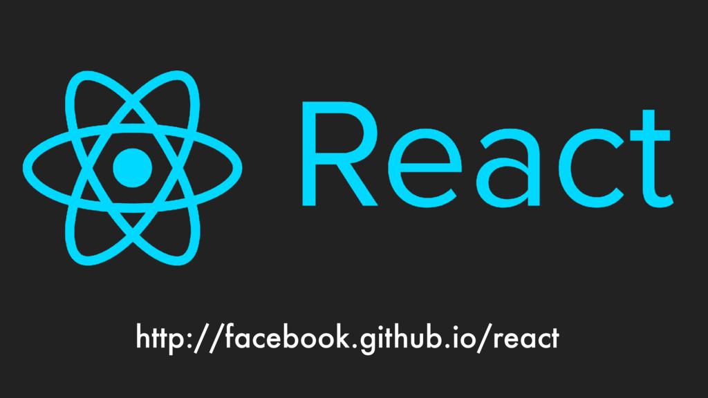 http://facebook.github.io/react
