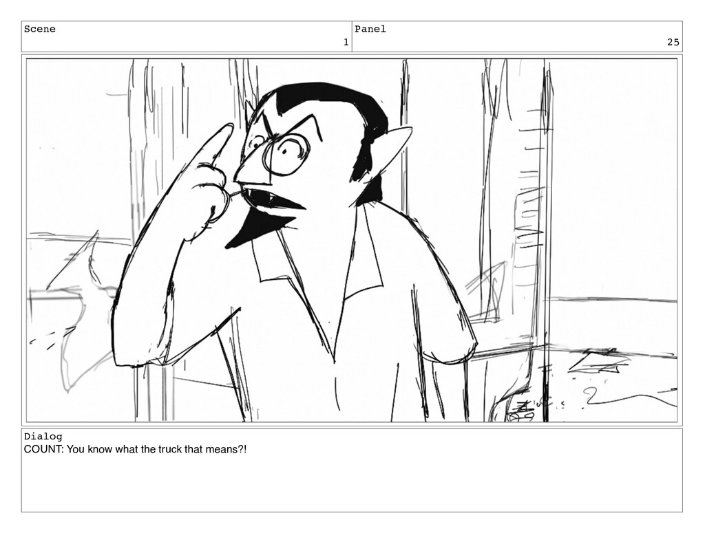 Scene 1 Panel 25 Dialog COUNT: You know what th...