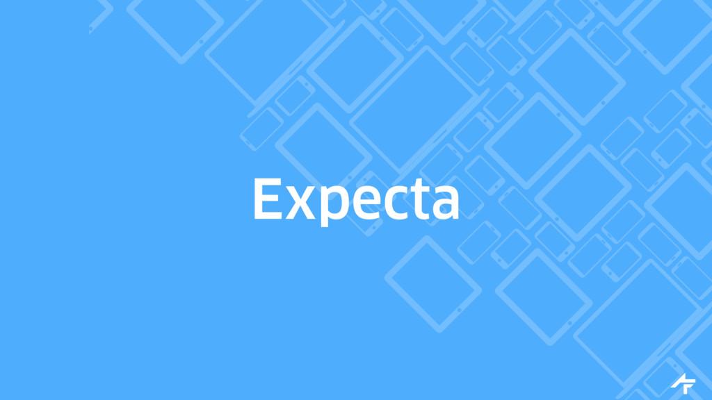 Expecta