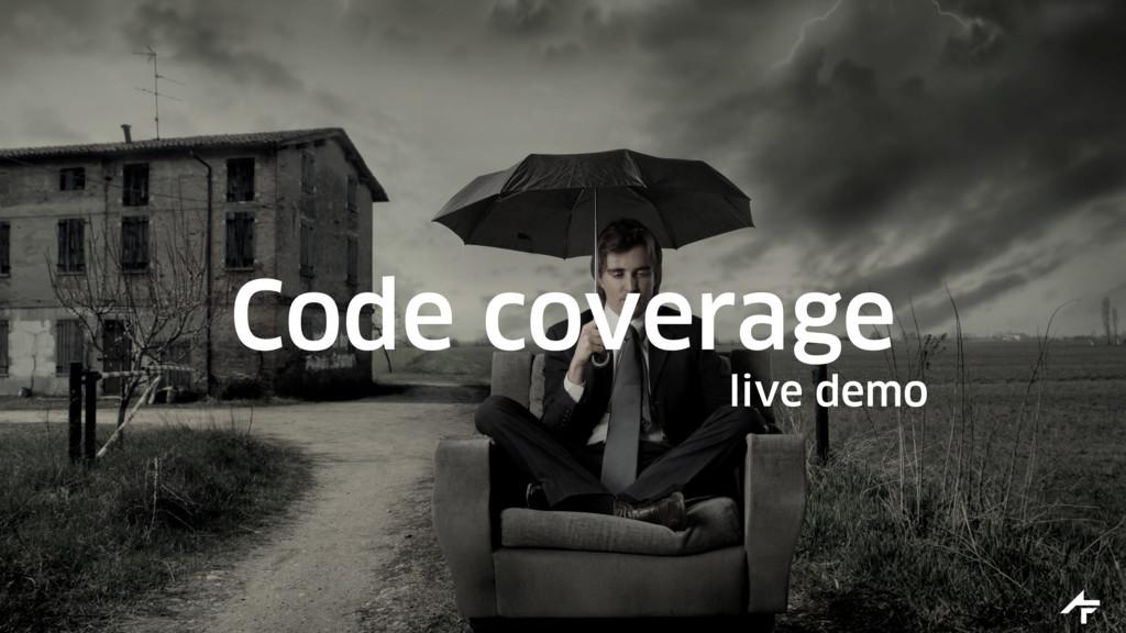 Code coverage live demo
