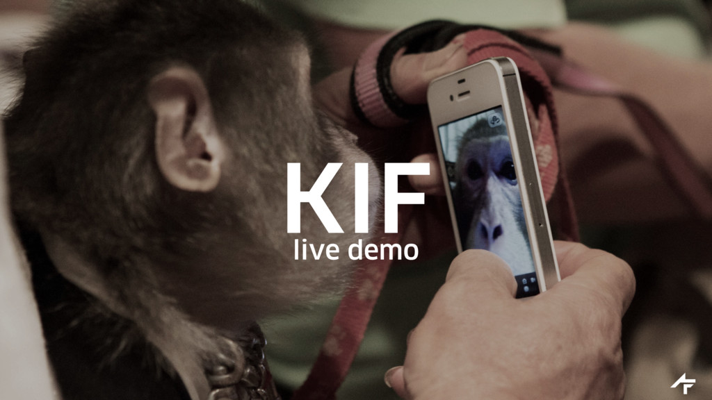 KIF live demo