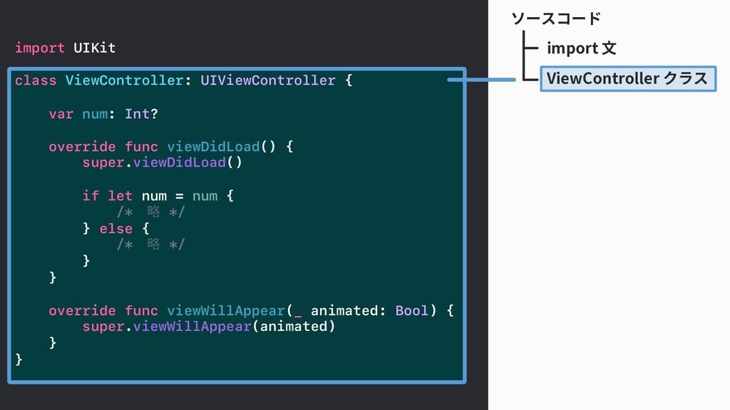 ソースコード import UIKit class ViewController: UIVie...