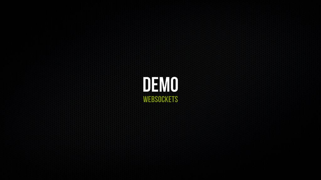 Demo Websockets