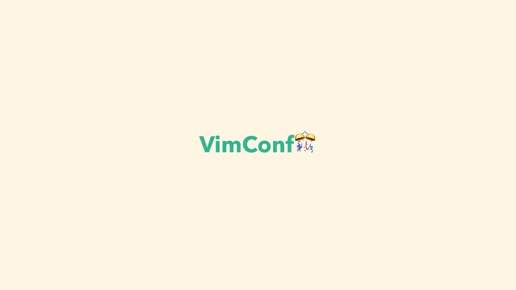 VimConf