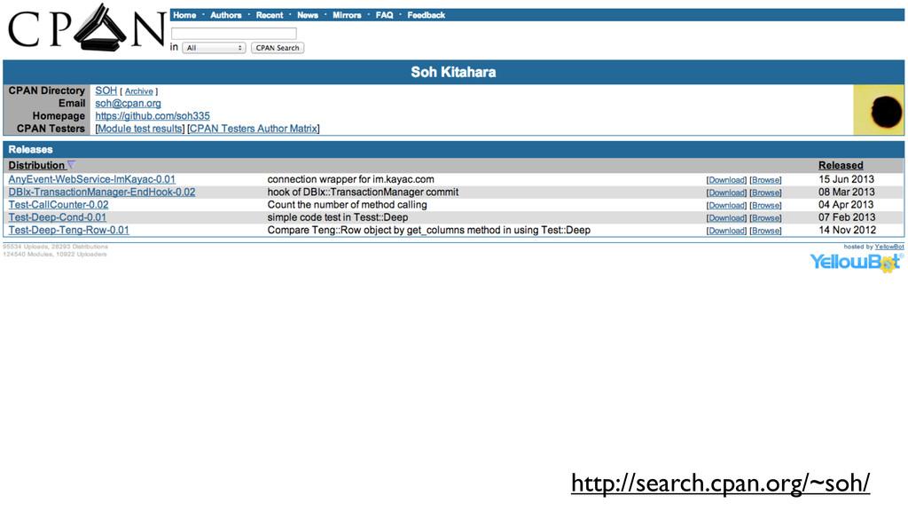 ςΩετ http://search.cpan.org/~soh/