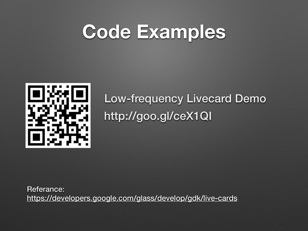 Code Examples http://goo.gl/ceX1QI Referance: h...