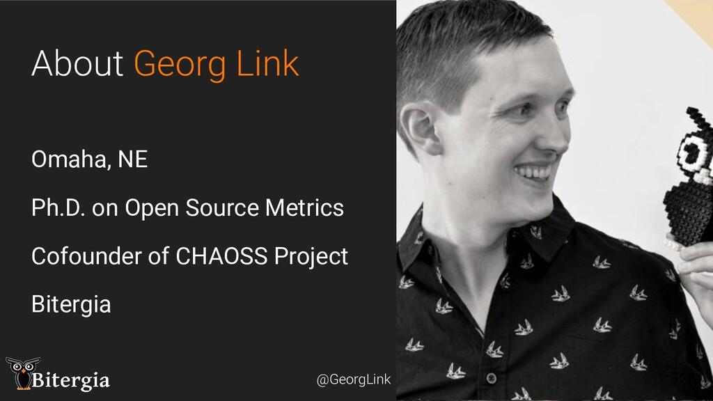@GeorgLink @GeorgLink About Georg Link Omaha, N...