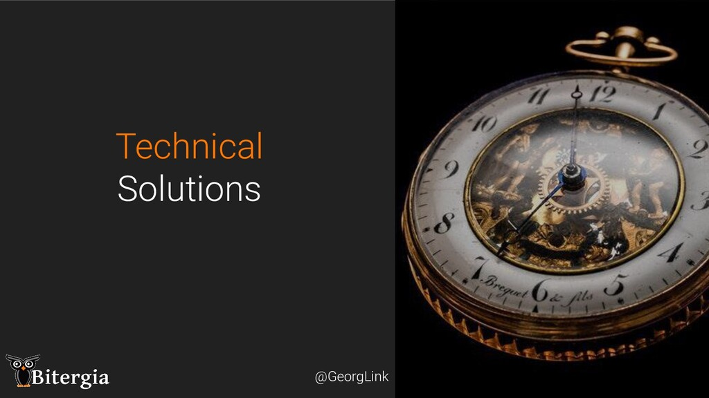 @GeorgLink @GeorgLink Technical Solutions