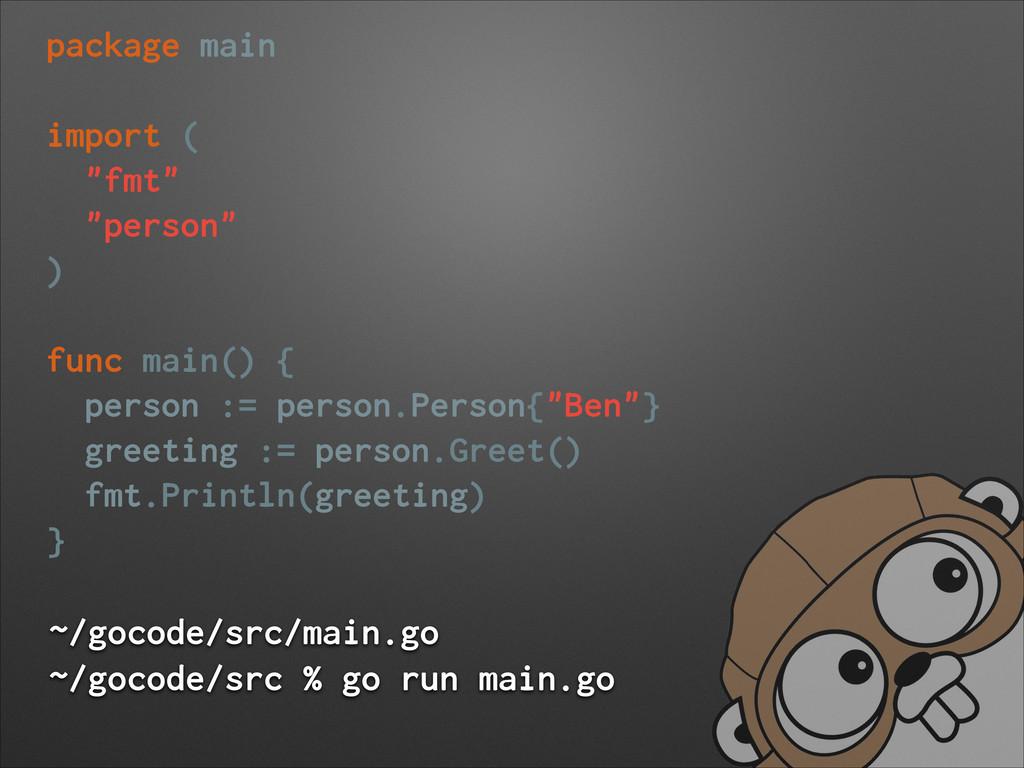 ~/gocode/src/main.go ~/gocode/src % go run main...