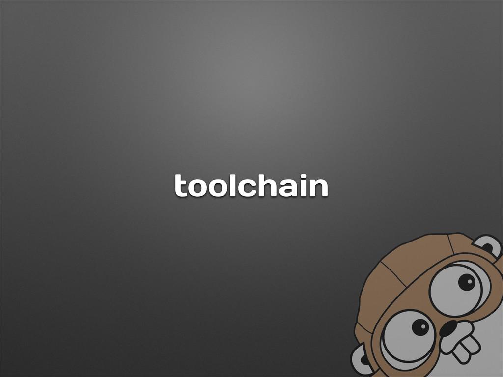 toolchain