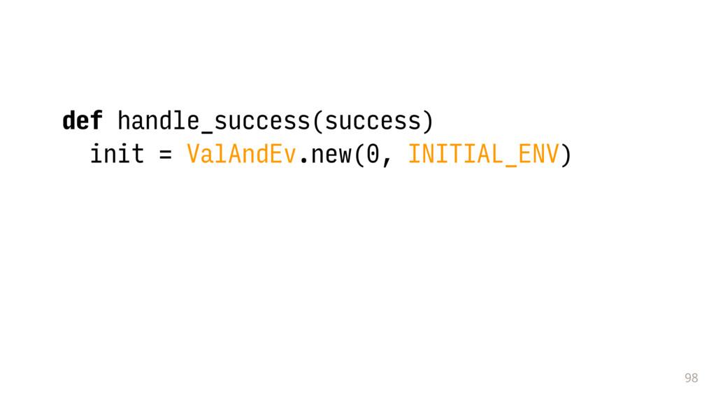 98 def handle_success(success) init = ValAndEv....