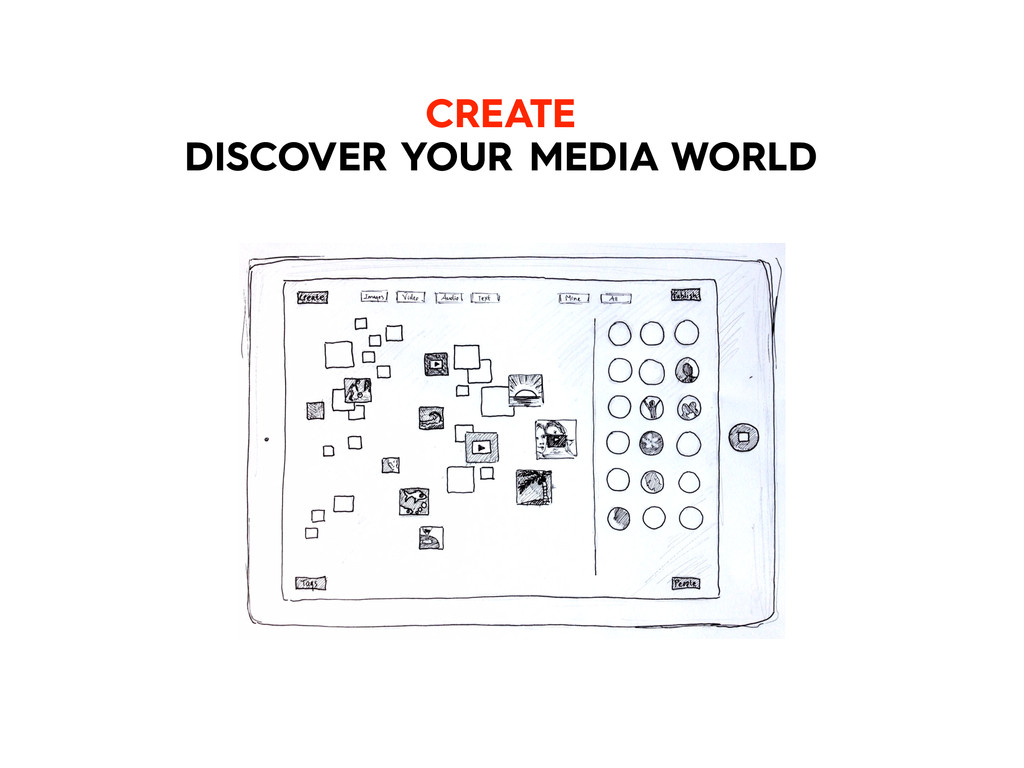 CREATE DISCOVER YOUR MEDIA WORLD