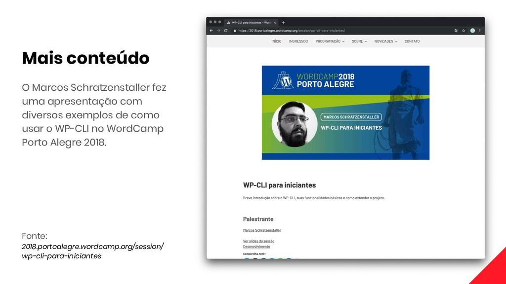 Fonte: 2018.portoalegre.wordcamp.org/session/ w...