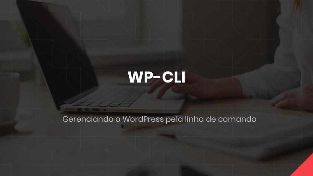WP-CLI Gerenciando o WordPress pela linha de co...