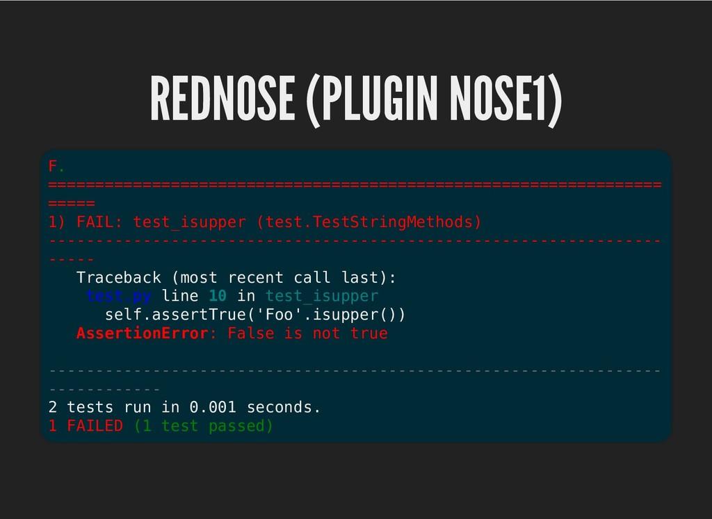 REDNOSE (PLUGIN NOSE1) REDNOSE (PLUGIN NOSE1) F...