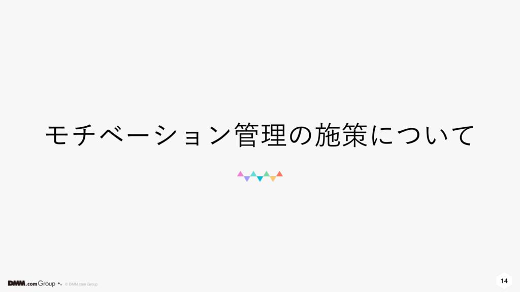 14 © DMM.com Group Ϟνϕʔγϣϯཧͷࢪࡦʹ͍ͭͯ