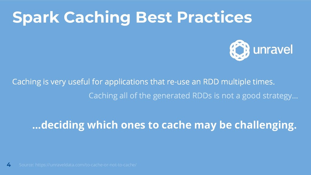 Caching is very useful for applications that re...