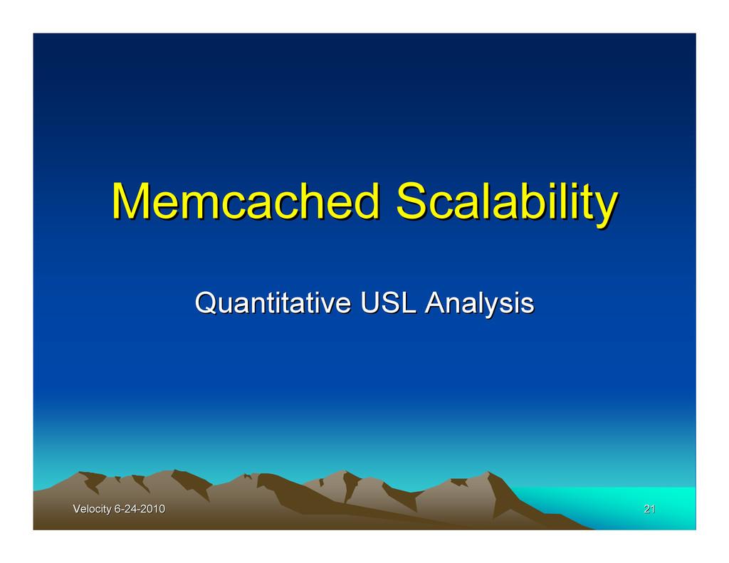Velocity 6-24-2010 Velocity 6-24-2010 21 21 Mem...