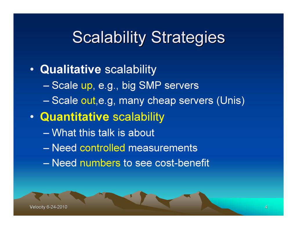 Velocity 6-24-2010 Velocity 6-24-2010 4 4 Scala...