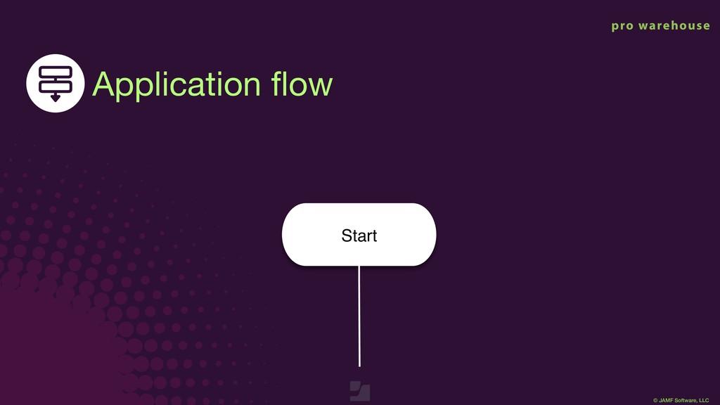 © JAMF Software, LLC Start Application flow © JA...