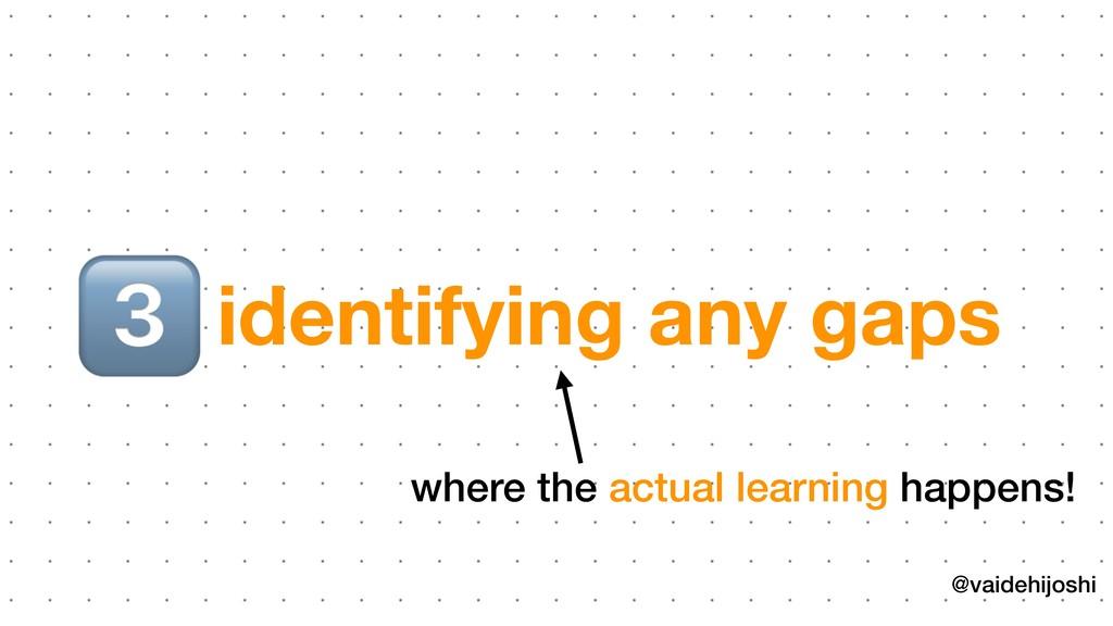 @vaidehijoshi identifying any gaps ( where the a...