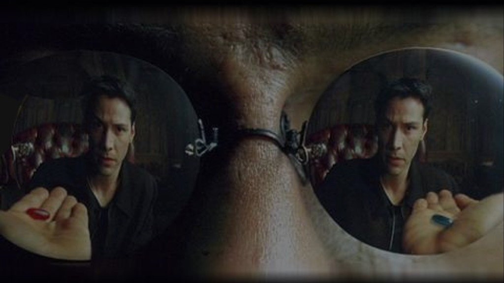 Red Pill / Blue Pill: the Two Faces of BItcoin