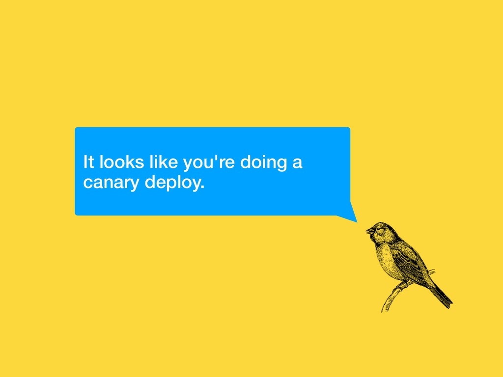 It looks like you're doing a canary deploy.