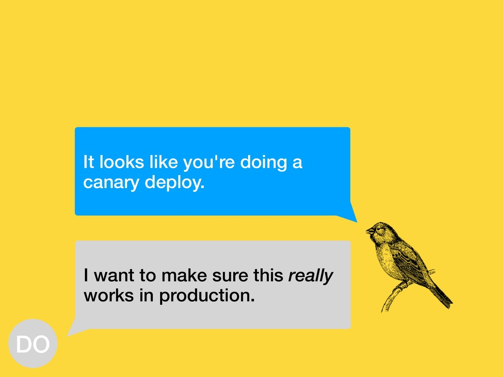 It looks like you're doing a canary deploy. I w...
