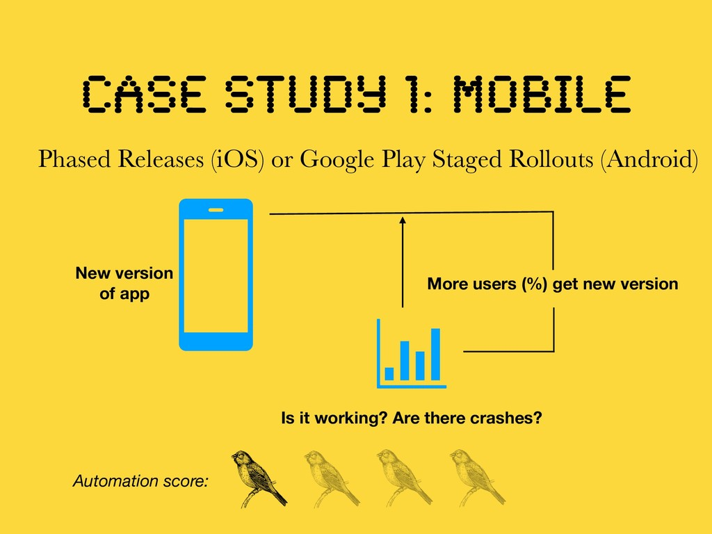 CASE STUDY 1: mobile Phased Releases (iOS) or G...