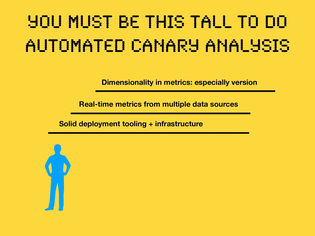 YOU MUST BE THIS TALL TO DO AUTOMATED CANARY AN...