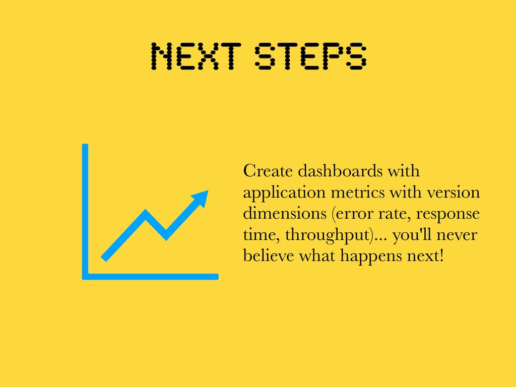 Next steps Create dashboards with application m...
