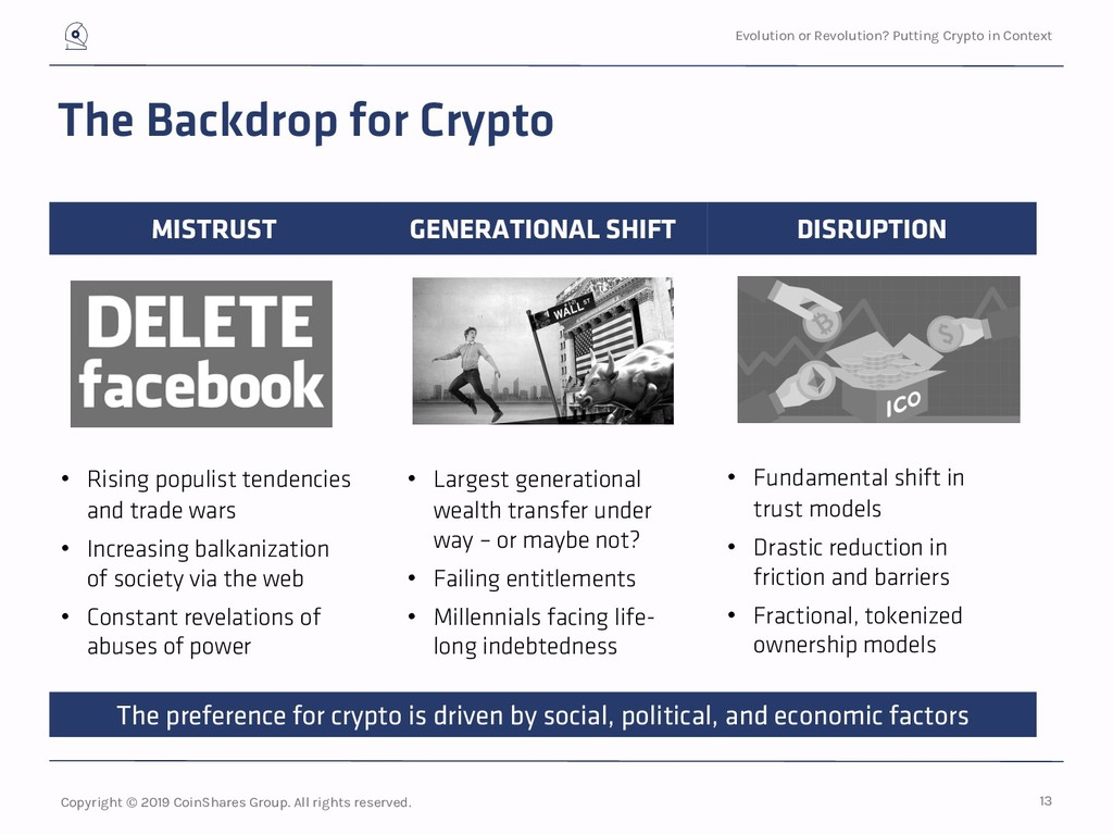 Evolution or Revolution? Putting Crypto in Cont...
